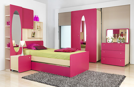 Chambre fille calin caline for City meuble catalogue