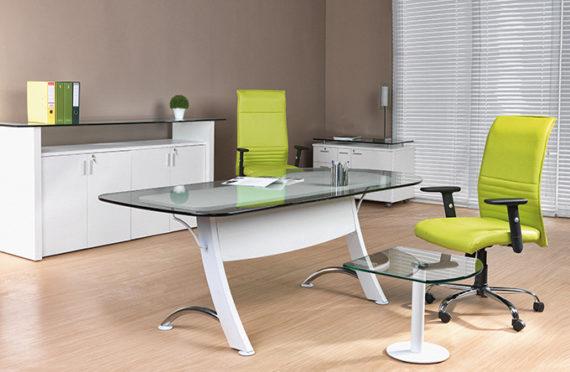 11 LAMDA blanc bureau